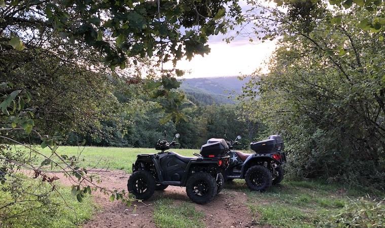 Randonnées quad en Aveyron
